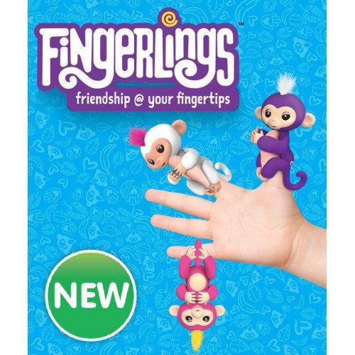 "Обезьяна Fingerling, конструктор Funny Bricks, фломастеры ""Мэджик пенс"", набор ""Мистер Зубастик"", куклы от 9 руб."