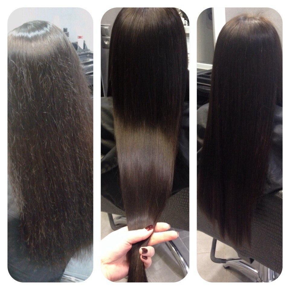 """Кератиновое выпрямление волос """"Sense-Enzo"""" и """"VIURE"""" от 29 руб."""