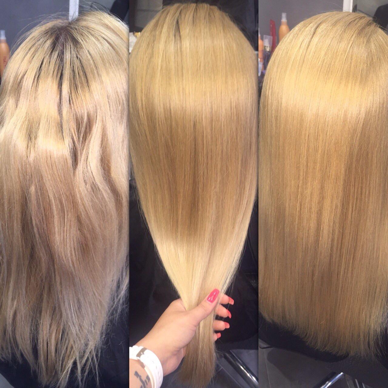 Что входит в состав кератиновое выпрямление волос