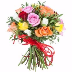 Розы, гвоздики, хризантемы, альстромерии от 0,60 руб.
