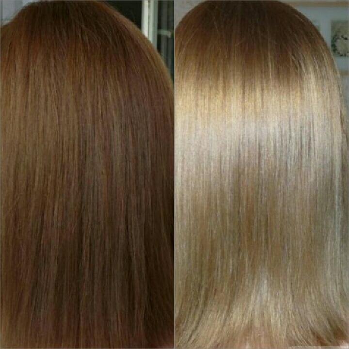 Окраска волос в один тон от 10 руб.
