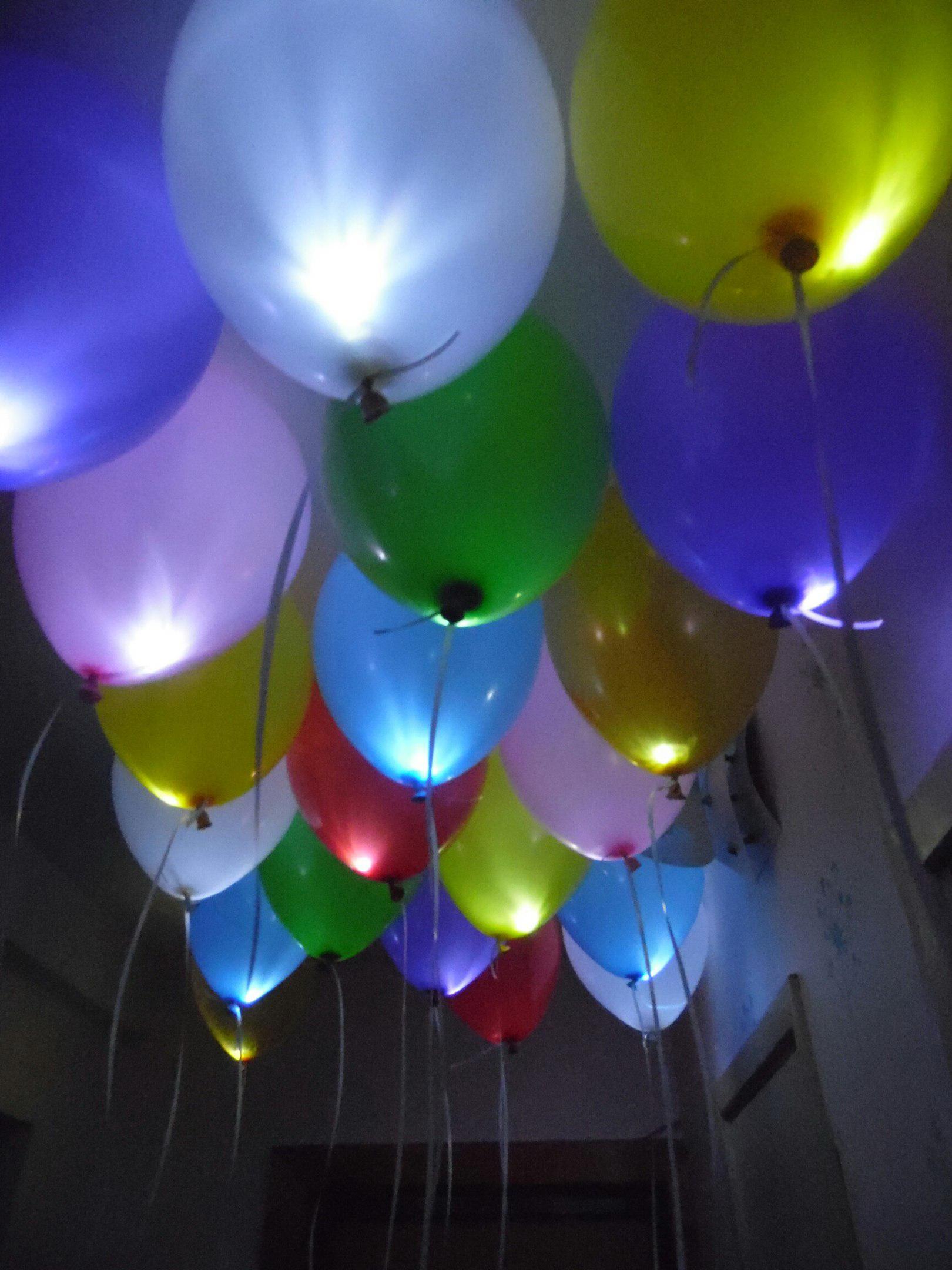 Гелиевые, светящиеся шары и композиции всего от 0,80 руб.
