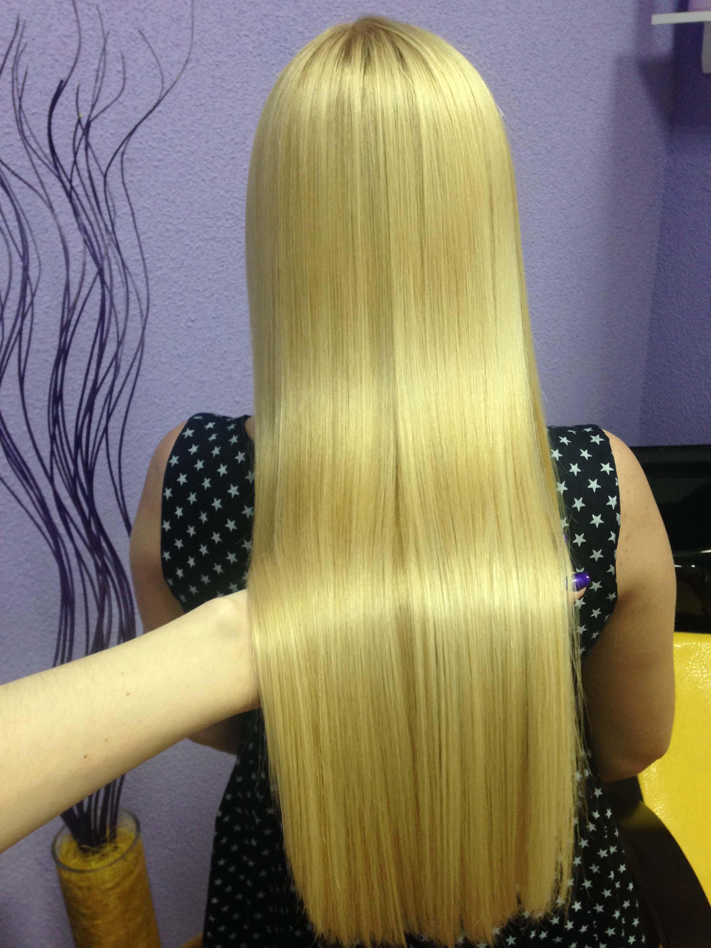 Кератиновое выпрямление и лечение, биксипластия, ботокс и реконструкция волос, комплексы от 25 руб.
