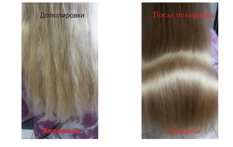 Термострижка, полировка волос, экранирование, термокератин, биоламинирование от 7 руб.