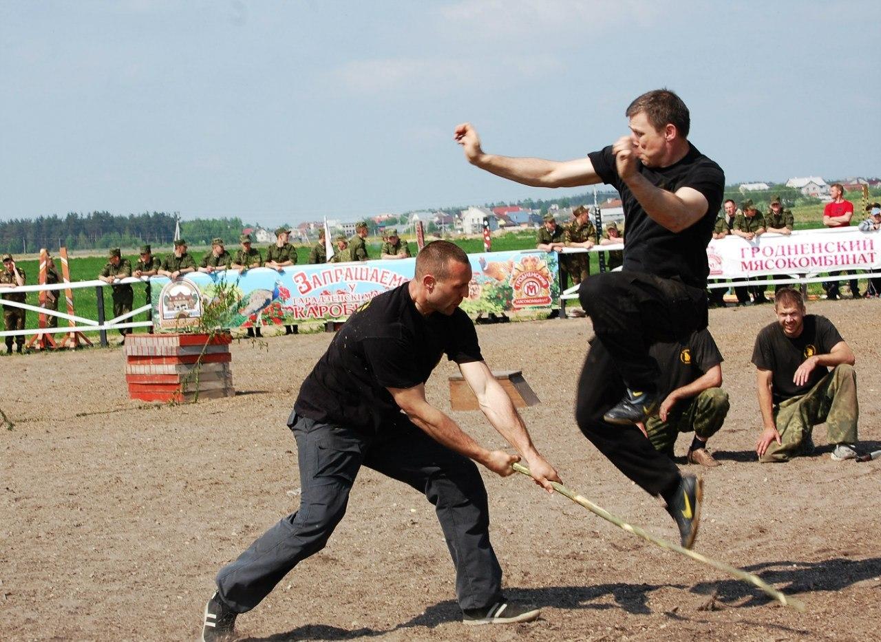 Абонемент на русский рукопашный бой от 1,25 руб/час или от 1,88 руб/занятие