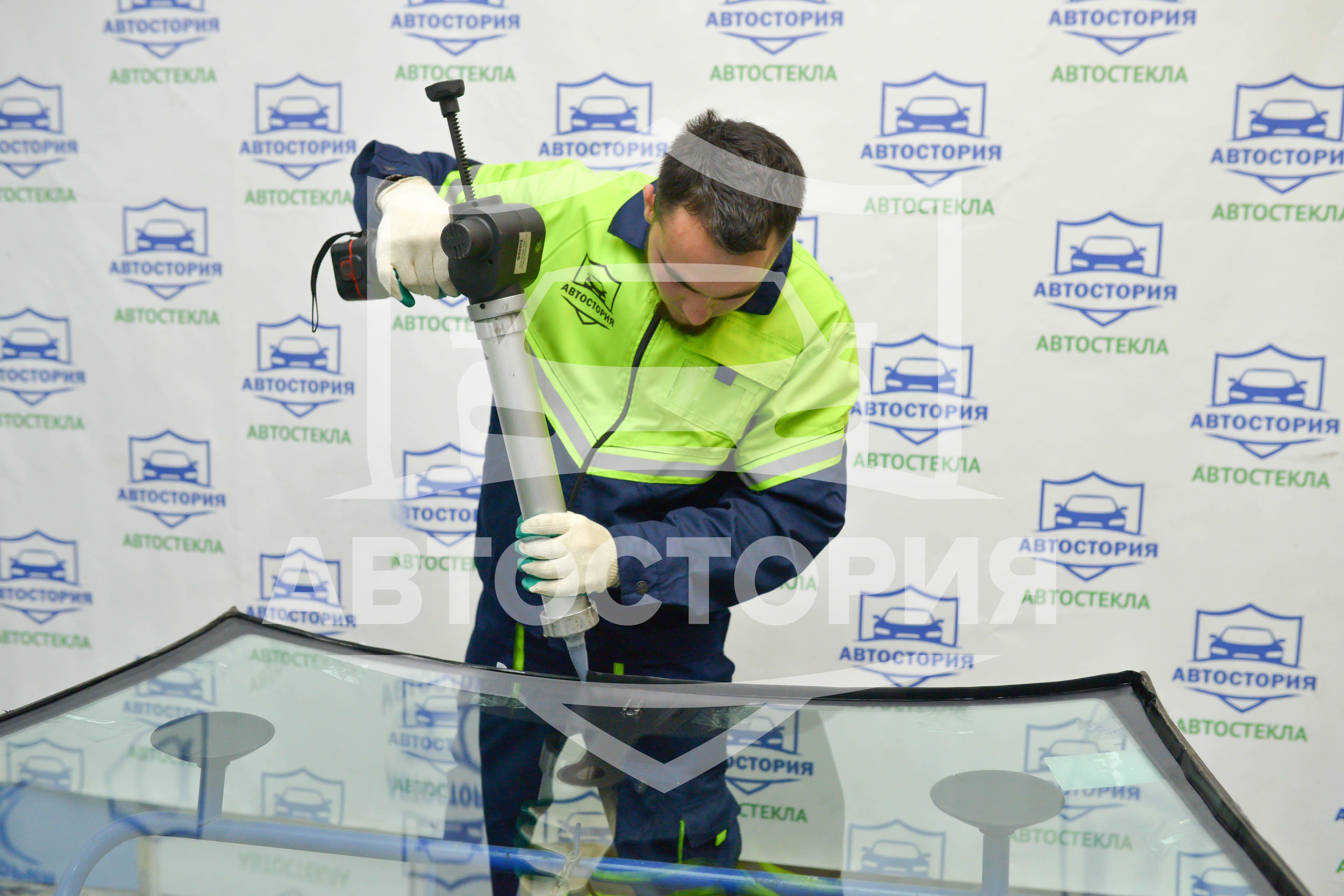 Ремонт трещин и сколов лобового стекла всего от 0,60 руб! Только в Автостории!