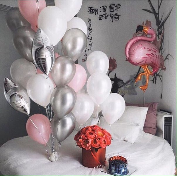 Гелиевые шарики от 0,45 руб., светящиеся шарики за 1,80 руб., букеты из шаров от 0,70 руб.