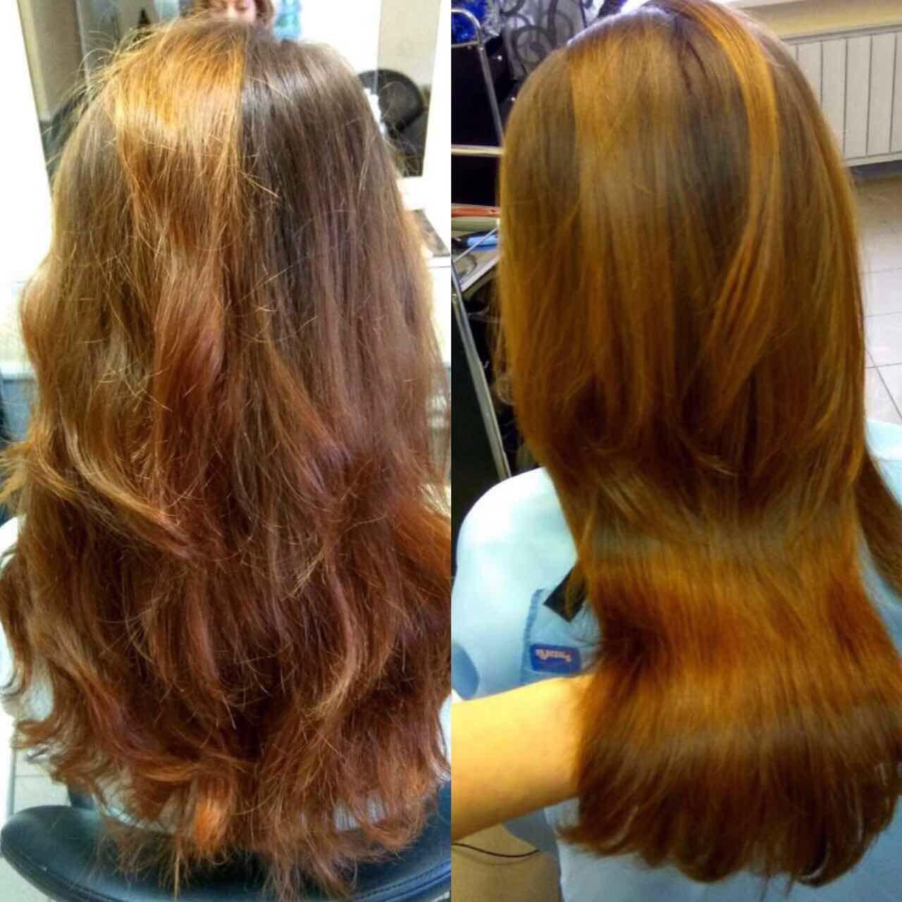 Термострижка + ботокс волос Kaypro, термокератин, экранирование, ламинирование, полировка от 12 руб.