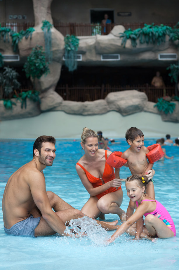 Аквапарк VICHY в Вильнюсе + бани всего за 13,50€/4 часа