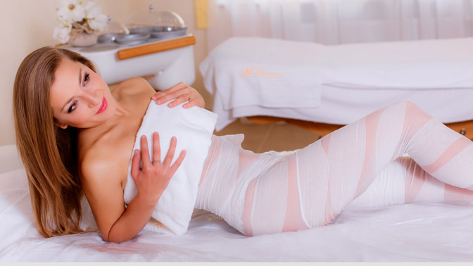 Различные виды массажа, бандажное обертывание от 6 руб.