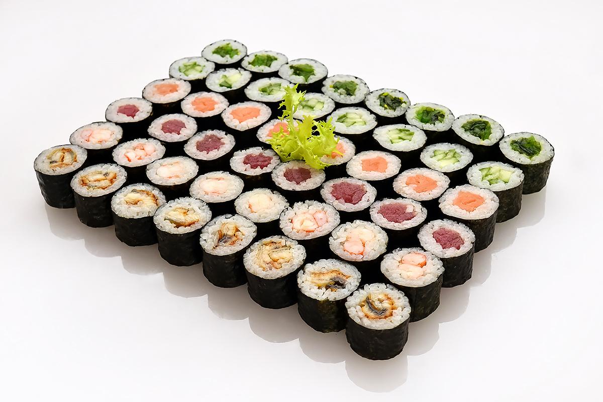 """Сочные суши-сеты с доставкой """"Старый Токио"""" от 15,50 руб/659 г"""