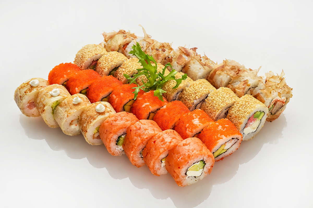 """Сочные суши-сеты с доставкой """"Старый Токио"""" от 17,90 руб/600 г"""
