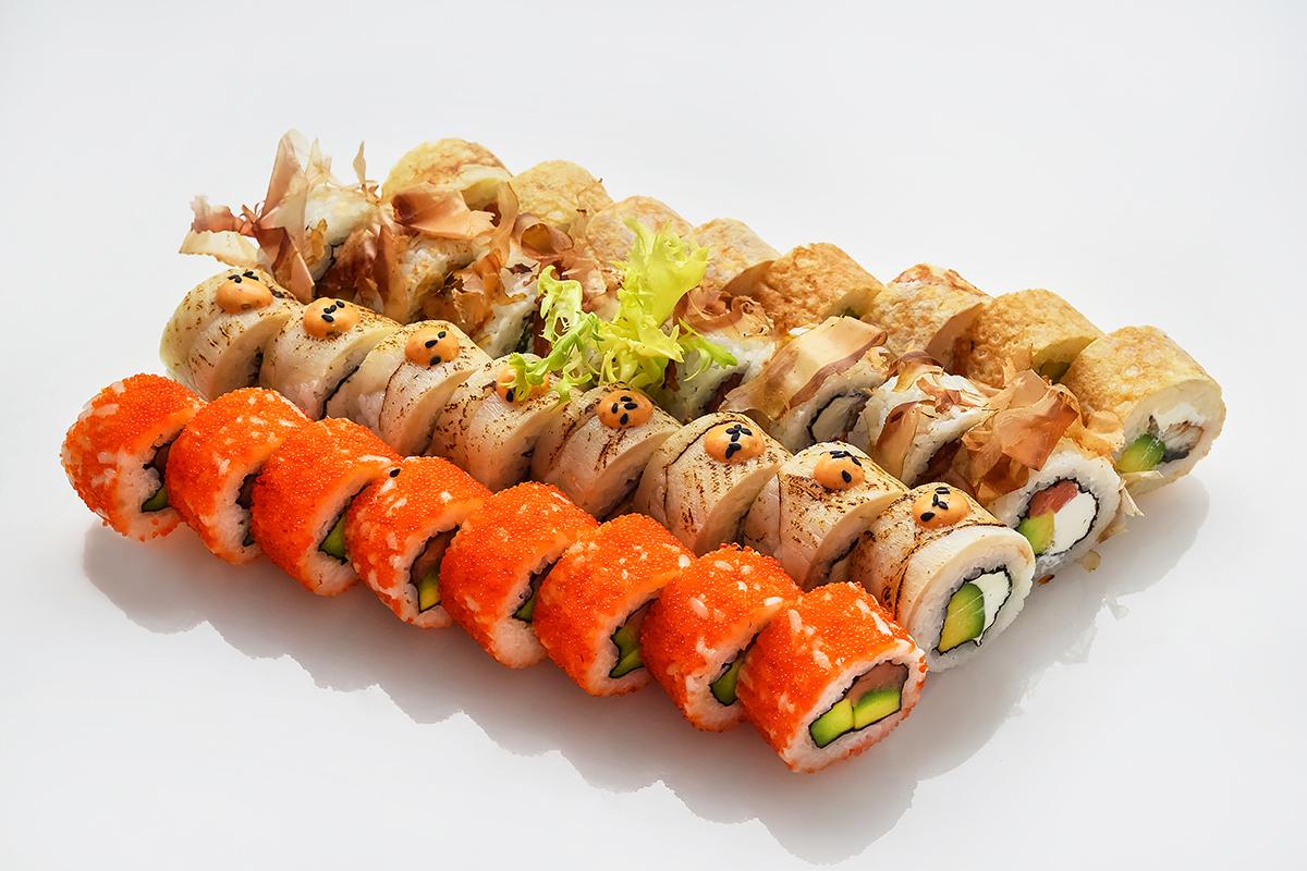 """Сочные суши-сеты с доставкой """"Старый Токио"""" от 15,50 руб./(659 г)"""