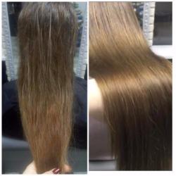 """Кератиновое выпрямление и ботокс волос от 40 руб. в ТЦ """"Замок"""""""