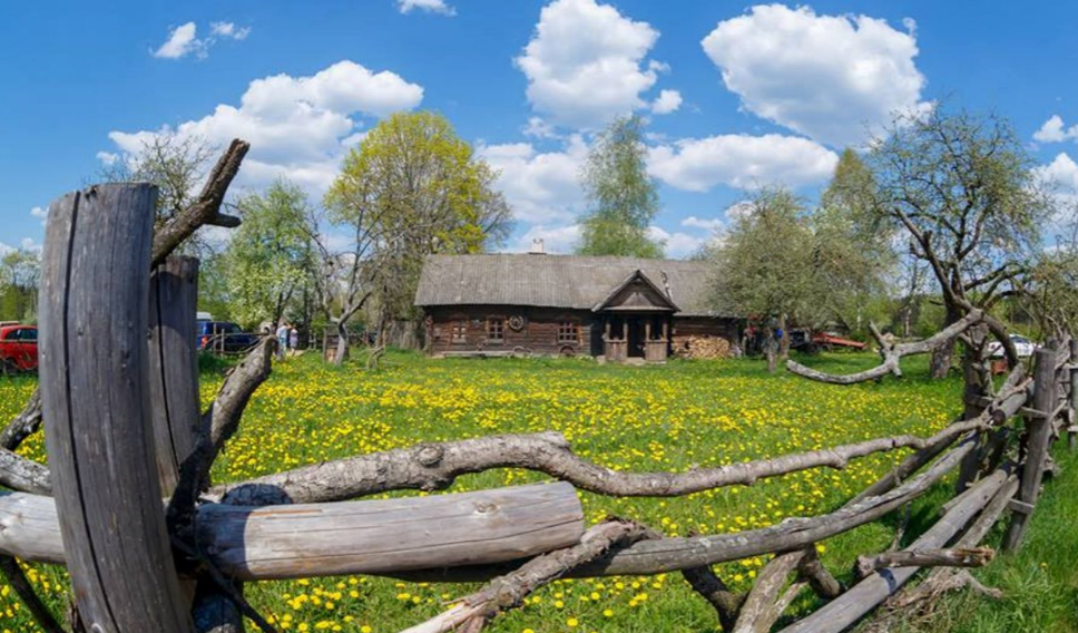 Выходные для компании в самобытном музее-деревне Забродье от 37,50 руб./чел.