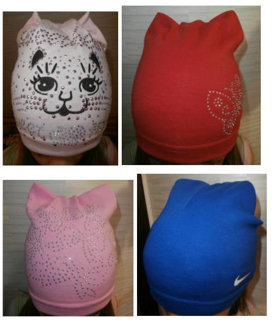 Стильные и модные шапочки для детей за 5 руб.