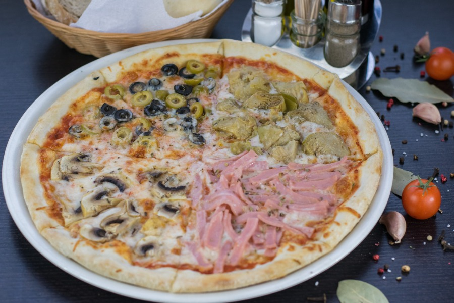 """Пицца в """"Elyana Cafe"""" всего от 5 руб."""