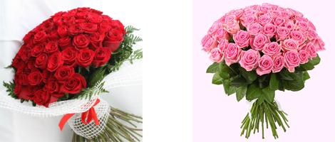 Розы (РБ, Голландия, Кения, Эквадор) от 0,60 руб./шт. с доставкой