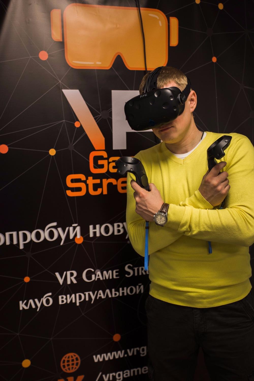 """Виртуальная реальность со шлемом """"HTC Vive"""" всего от 10 руб./час"""
