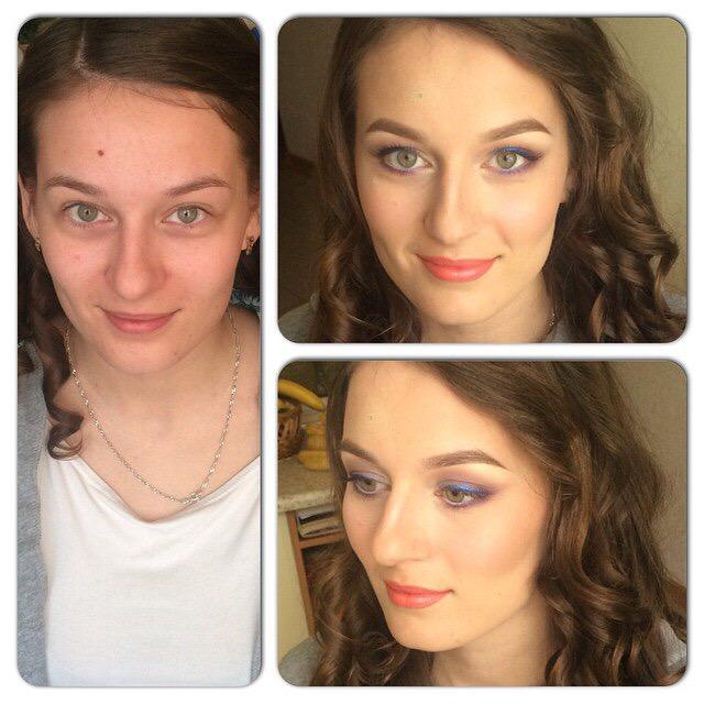 Различные виды макияжа, прическа от 18 руб.