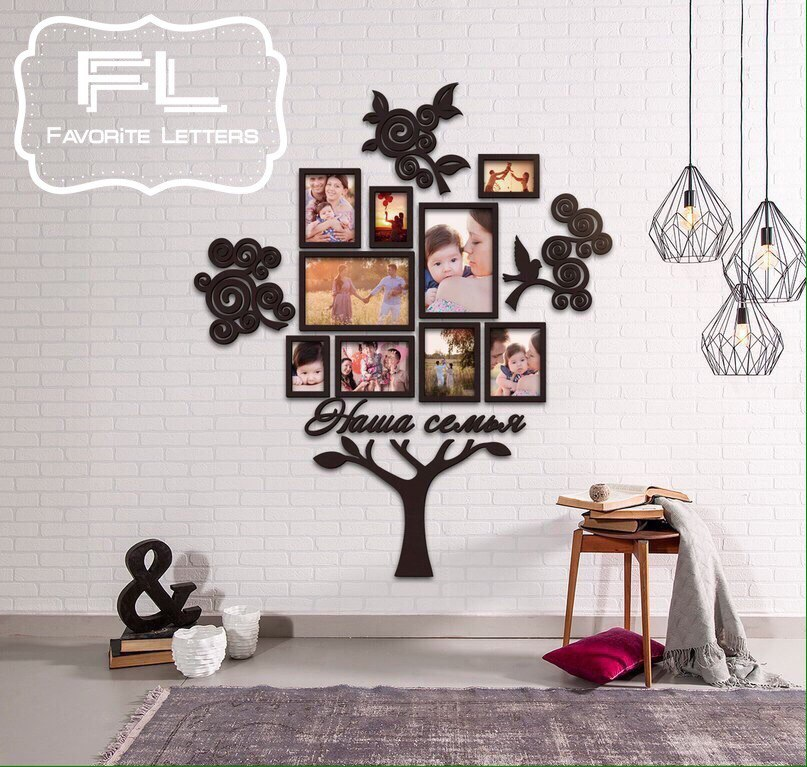 Уникальные декоративные изделия из дерева от 35,25 руб.