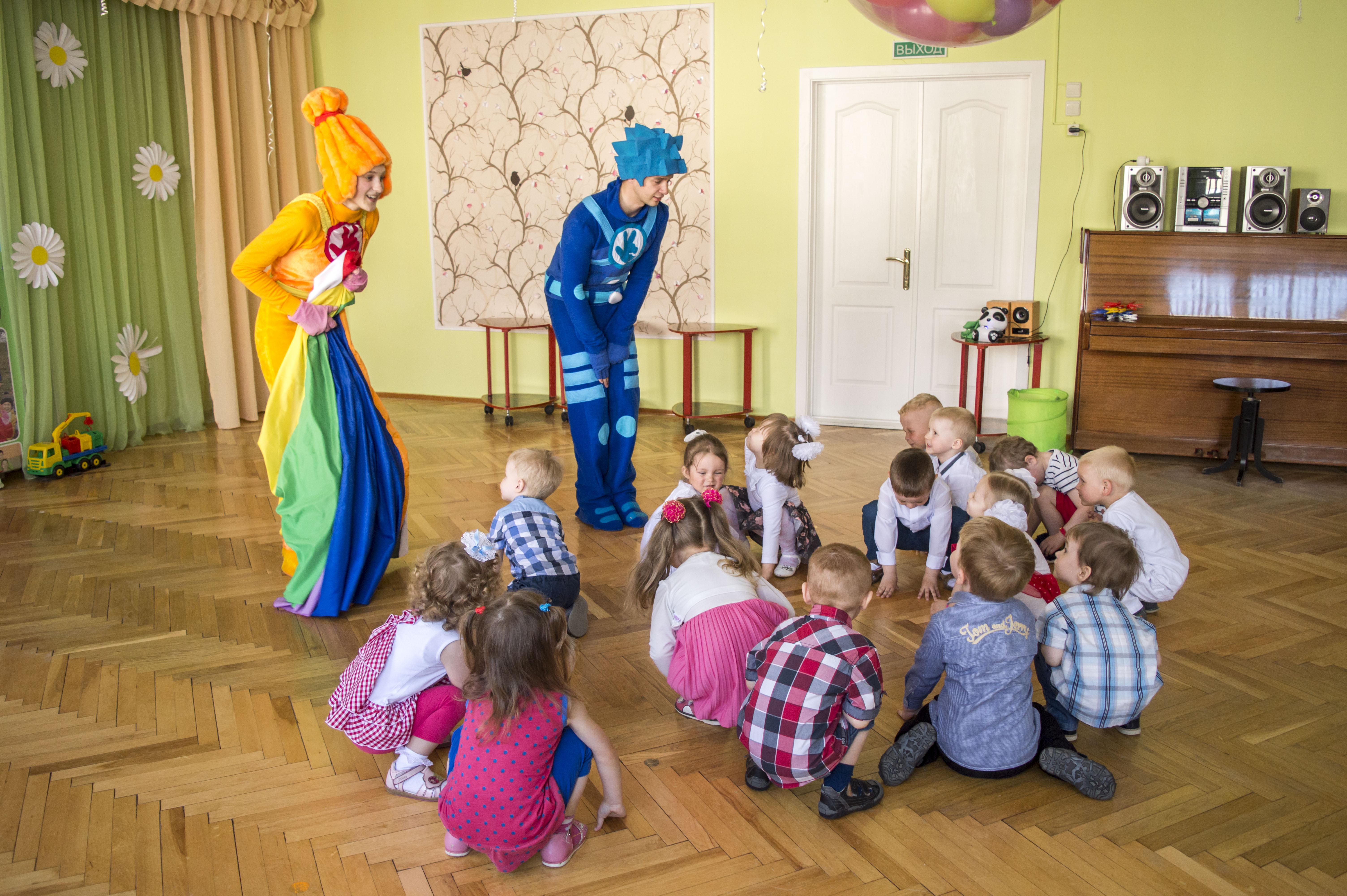 Клоуны, аниматоры, научное шоу на детский праздник от 20 руб.