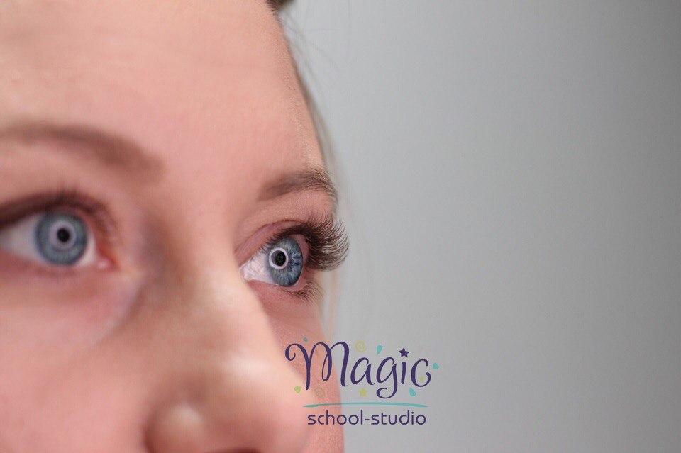 """Наращивание, снятие, ламинирование ресниц, дизайн бровей от 5 руб. в студии """"Magic"""""""