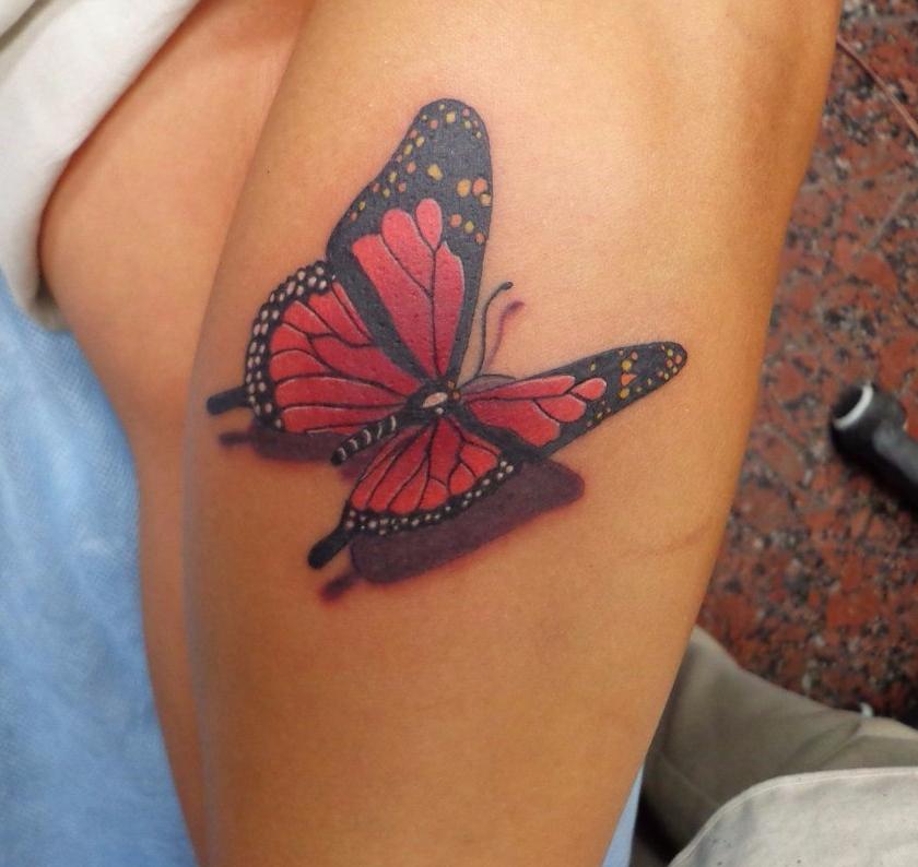 """Татуировка, пирсинг, перманентный макияж в салоне татуировки """"У Лисицы"""" от 21 руб."""