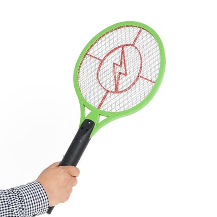 Электрическая ракетка-мухобойка за 17,90 руб.