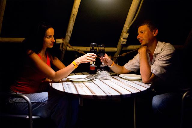 Романтический вечер в северном стиле в чуме всего за 145 руб.