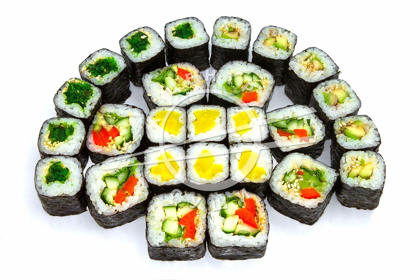 """""""Центр Суши"""": суши-сеты от 10,44 руб/555 г, роллы от 6,23 руб/270 г + гарнир!"""