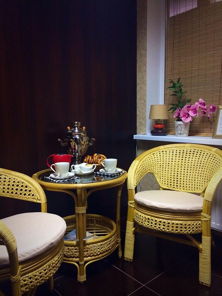 """Инфракрасная сауна + чаепитие от 7,50 руб/сеанс для 1 чел. в студии красоты """"Дом солнца"""""""