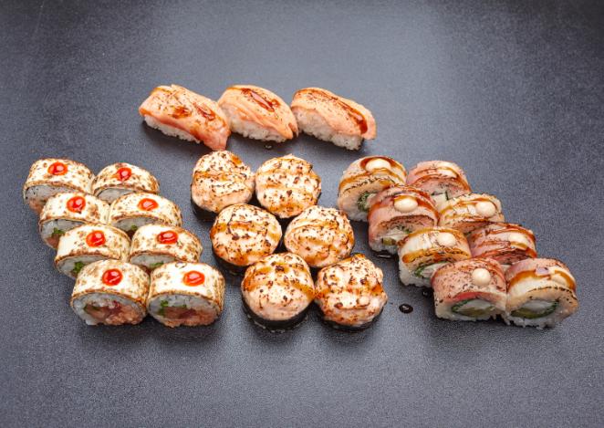 """Сеты от """"СушиСуши"""" от 11 руб/до 1010 г, сэндвич за 9,90 руб/415 г"""