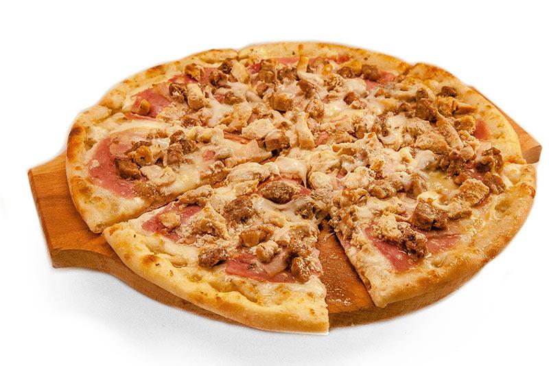 """Пиццы в кафе """"Альбасадоре"""" всего от 5,45 руб."""