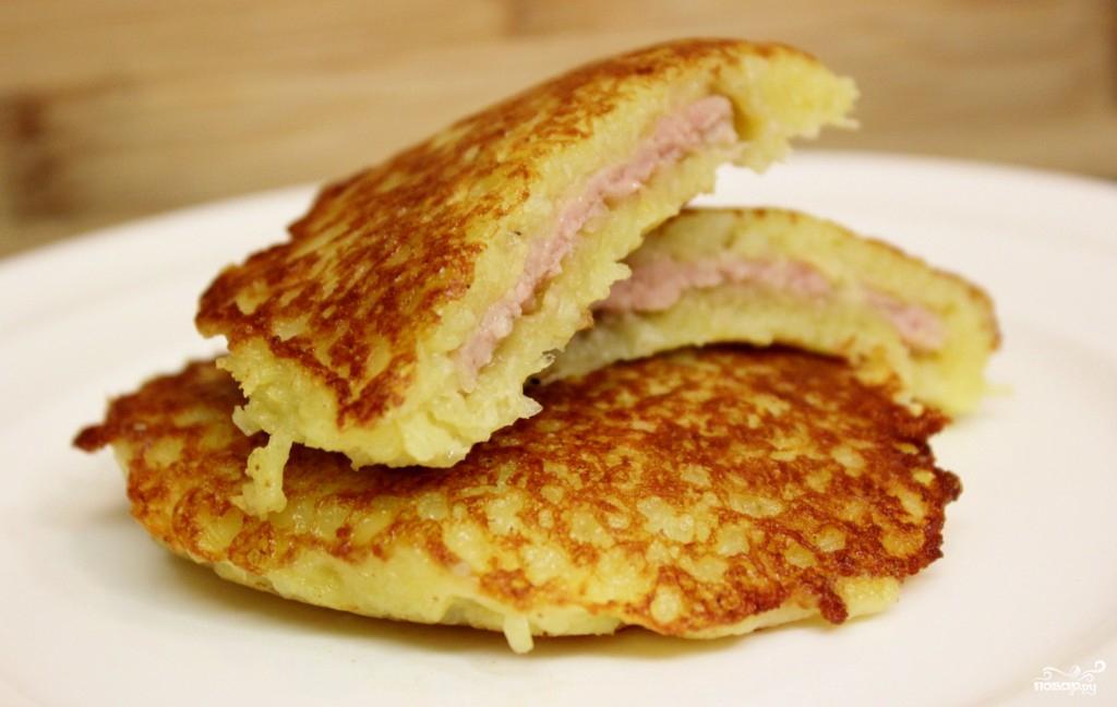 Картофельные блины рецепт с фото пошагово