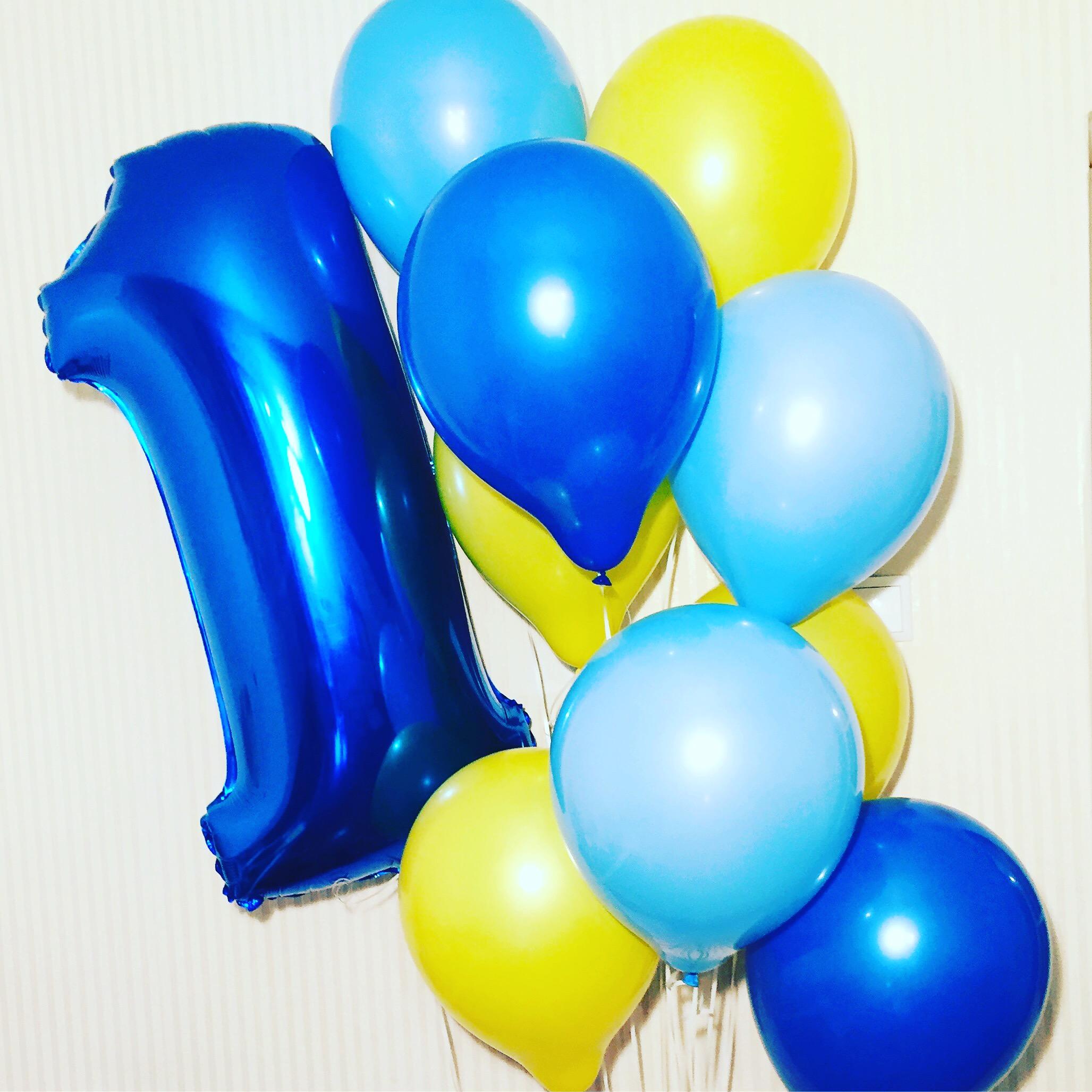 Гелиевые шары, шары фигуры, цифры от 0,40 руб/шт., праздничная полиграфия