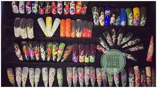 """Наращивание и коррекция ногтей от 25 руб. в центре красоты и татуировки """"Лея"""""""