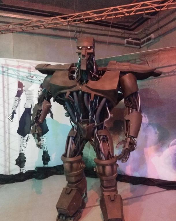 """Выставка роботов и трансформеров в ТРЦ """"Galleria Minsk"""" всего от 4,50 руб."""