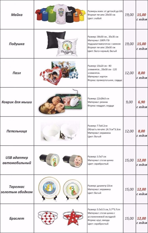 Эксклюзивные фотосувениры с вашей картинкой, высокое качество 3D печати, кружки, майки, наклейки от 4,50 руб.