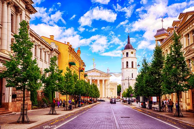 Экскурсионный тур на выходные в Вильнюс - Тракай всего от 92 руб/до 3 дней