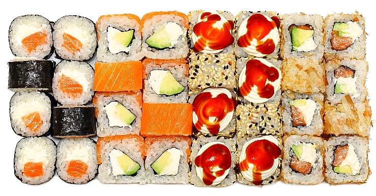 """Суши-сеты от """"TOKYO SUSHI"""" всего от 18,60 руб/756 г. Гарниры + ролл в подарок"""