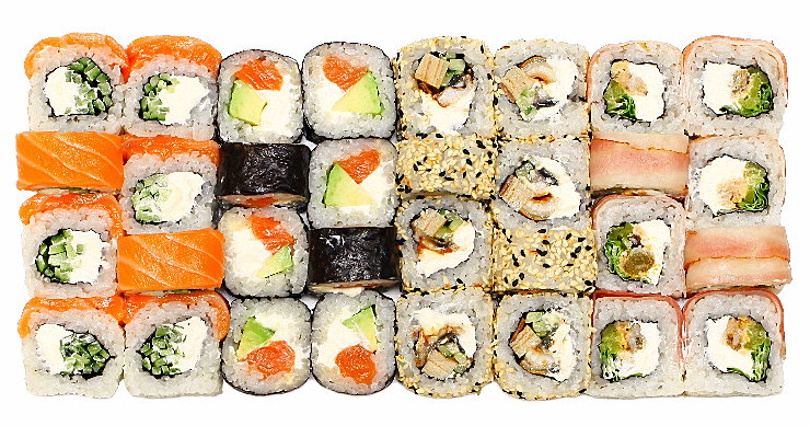 """NEW Суши-сеты от """"TOKYO SUSHI"""" всего от 19,60 руб/756 г. Гарниры + ролл в подарок"""