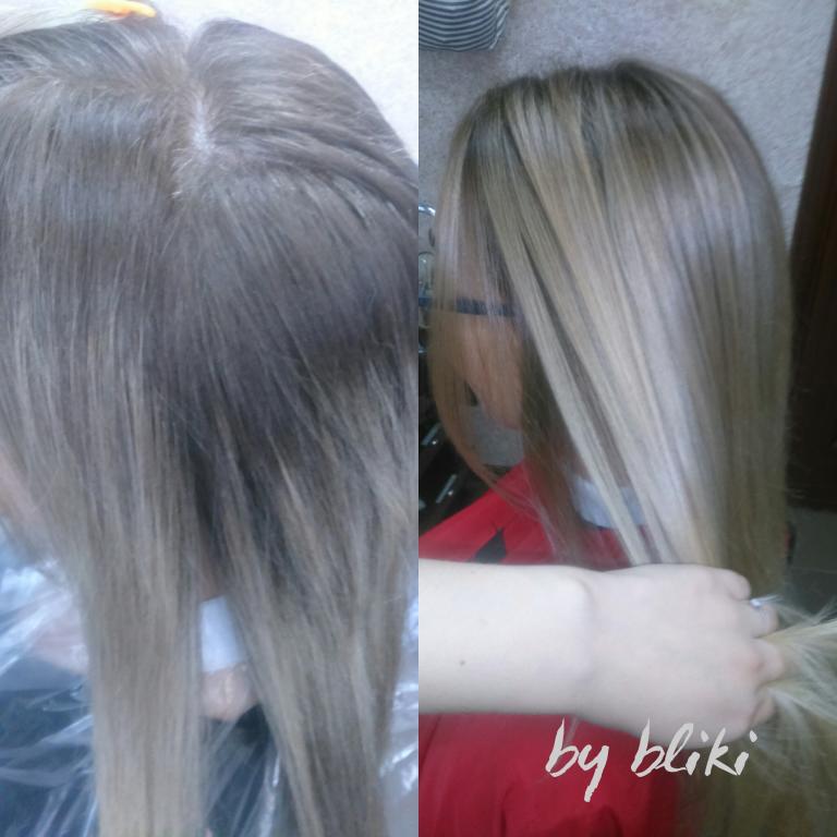 Калифорнийское мелирование + уход для волос, биомелирование + стрижка от 32 руб.