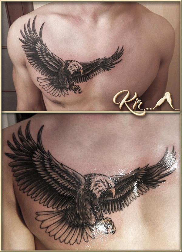 Татуировки: однотонные, сложные, перекрытие тату от 35 руб.
