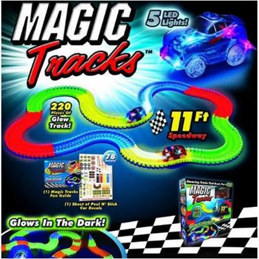 """Светящаяся дорога """"Magic Tracks"""" и другие игрушки от 22 руб."""