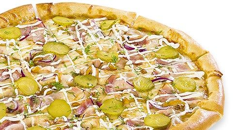 """Пицца (36 см) с доставкой и навынос от """"Скоропицца"""" от 8,95 руб/до 820 г"""