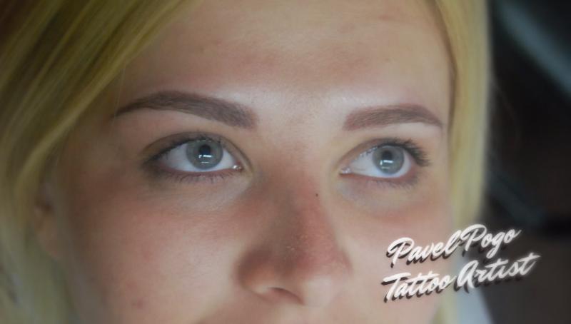Перманентный макияж век и бровей всего от 37 руб.