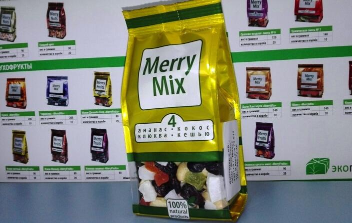 Крем-мед, смеси из орехов, ягод, сухофруктов от 1,95 руб.