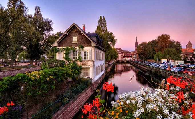 Тур с отдыхом в Испании (7 дней) всего от 748 руб/12 дней + Страсбург, Нюрнберг, Прага