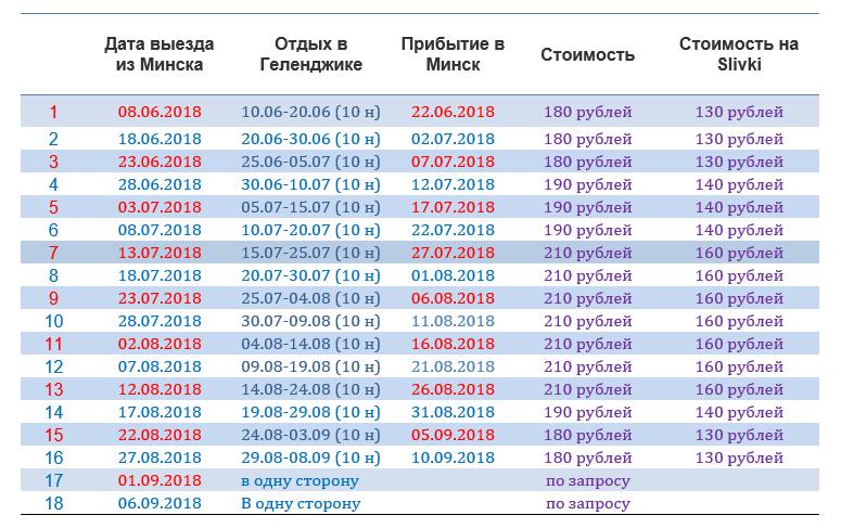 Проезд на автобусе в Геленджик, Кабардинку, Анапу, Джемете от 130 руб/в обе стороны